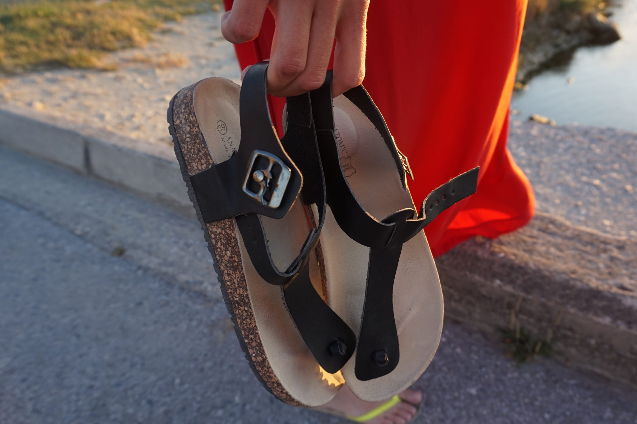 Greek sandals from Paralia