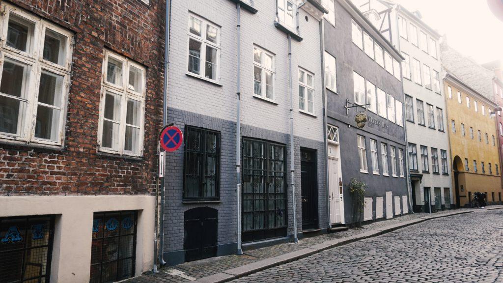 copenhagen street old danish style old street