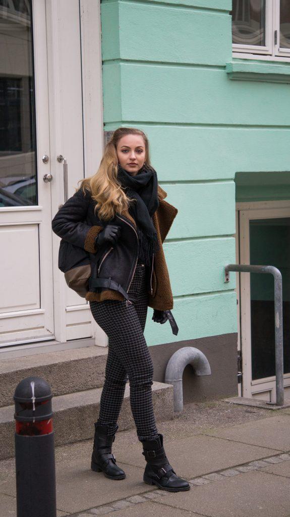 streetstyle school zara jacket h&m hm pants winter