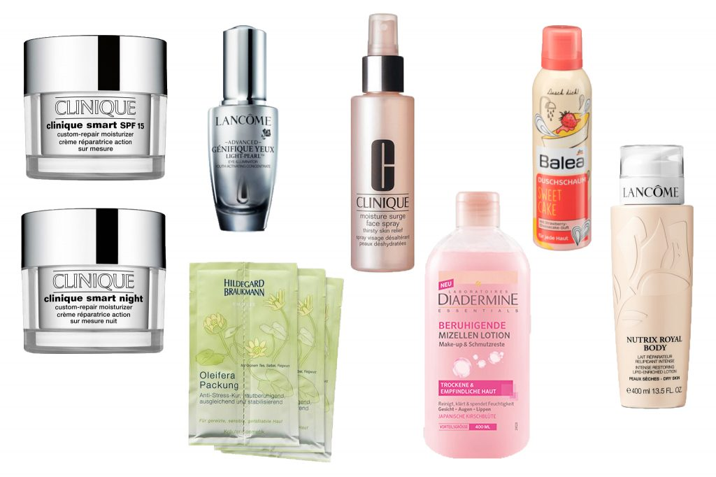 spring beauty favorites review clinique lancome hildegard braukmann diadermine balea