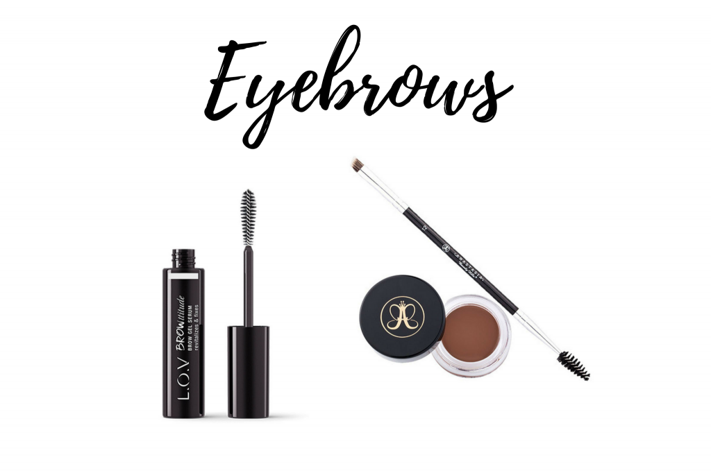 makeup for blue eyes eyebrows lov brow gel serum anastasia beverly hills dipbrow pomade