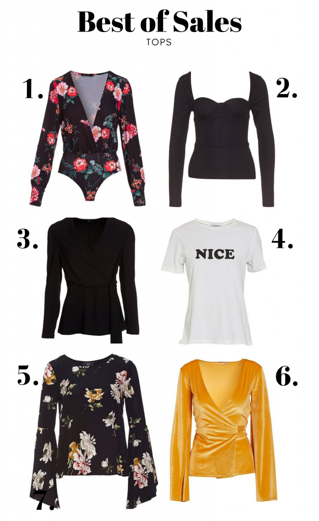 best of sale shopping tops sale summer pieces