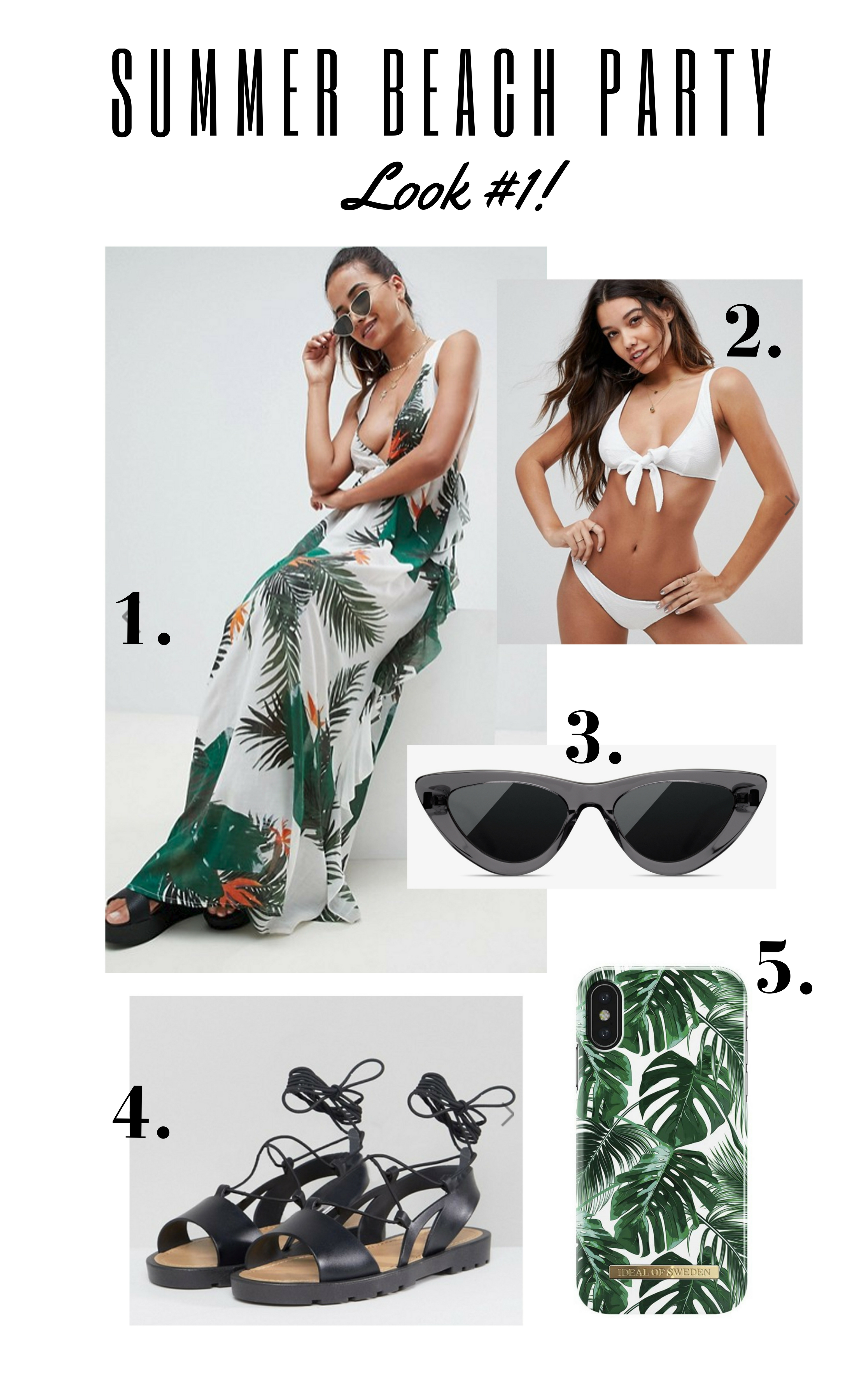 195c66c4ba summer beach party outfit inspiration inspo beach look what to wear to a  beach party