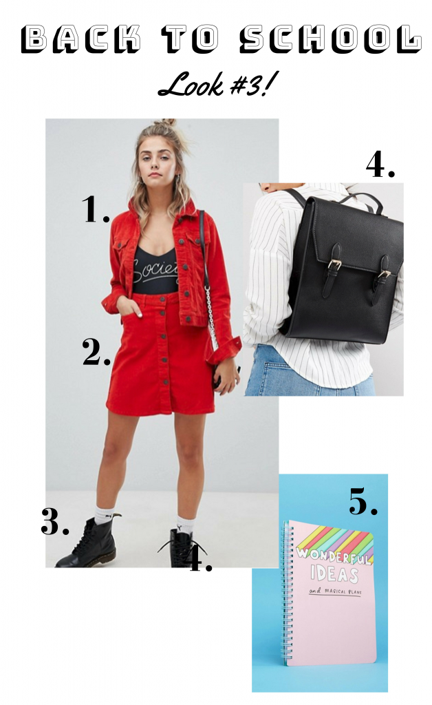 back to school outfit inspo ootd university style look of the day what to wear to school