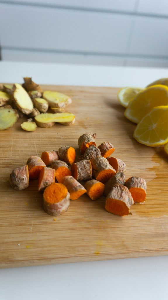ginger turmeric shots morning shots healthy morning habit