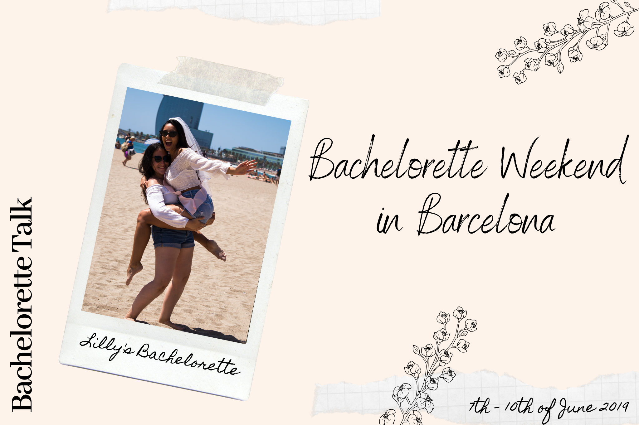 lillys bachelorette weekend in barcelona bride to be in spain bachelorette decor party weekend barcelona