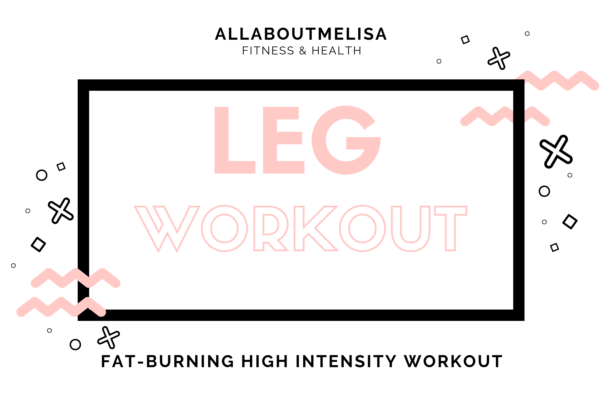 hiit high intensity leg workout leg focused cardio circle fitness
