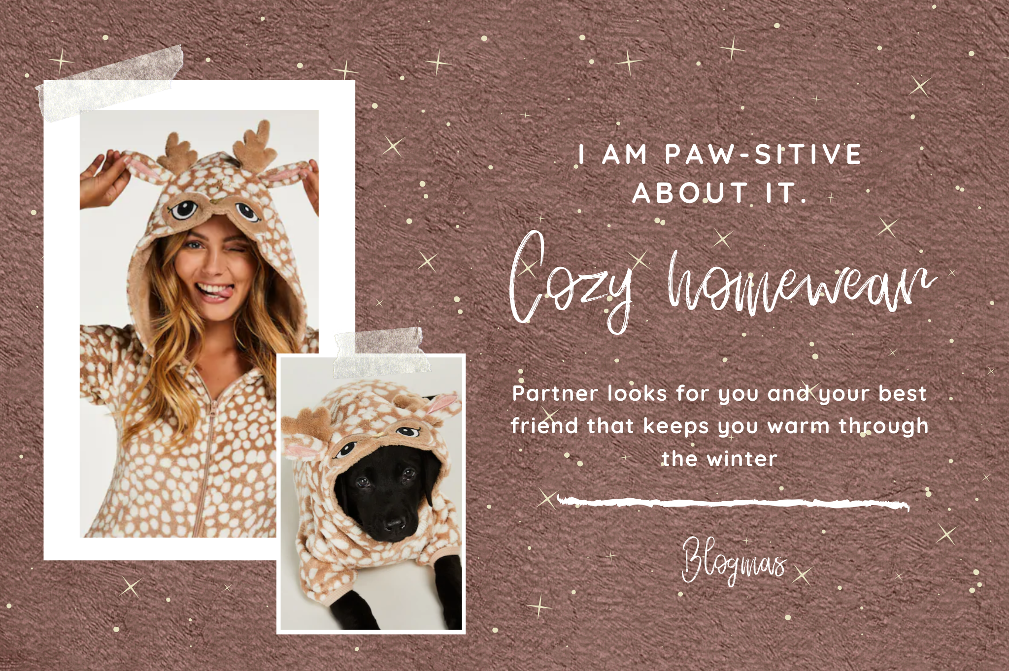 cozy homewear partnerlooks onesie dog pet wear