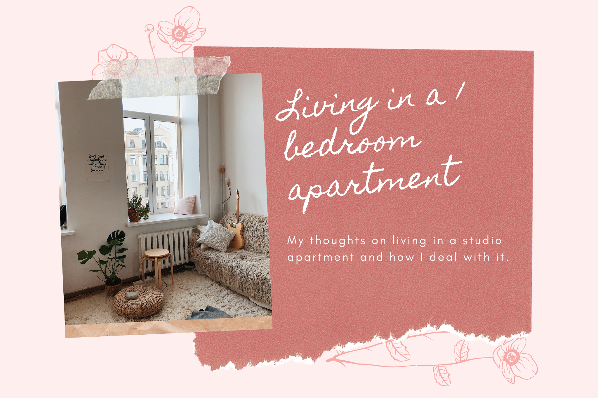 living in a 1 bedroom apartment