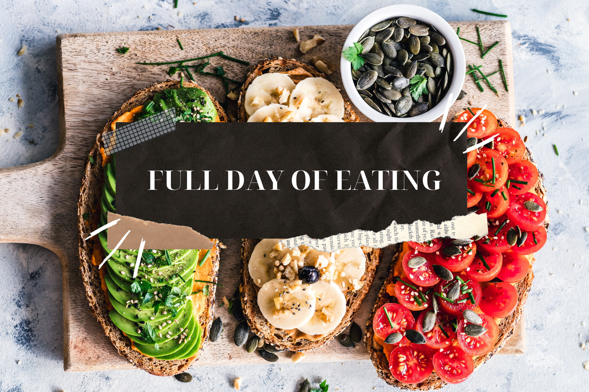full day of eating vegan