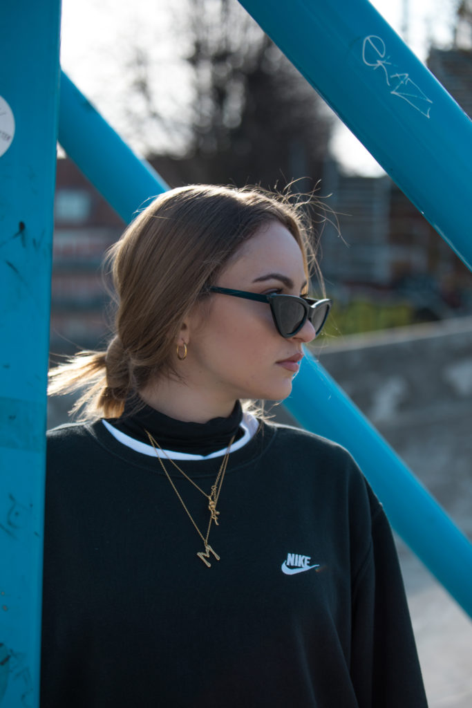 gold jewelry inspo portrait copenhagen superkilen