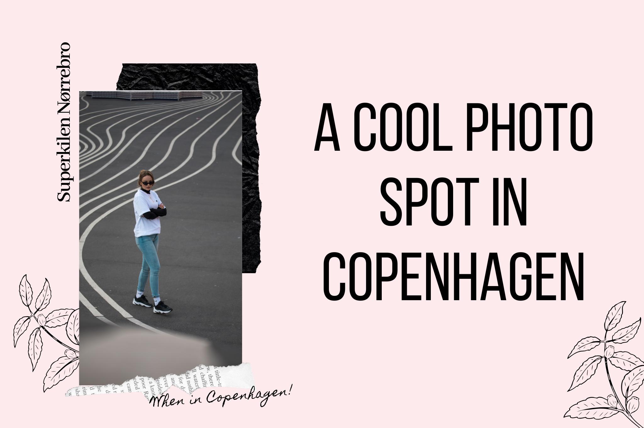 Superkilen Copenhagen place with stripes cool photo spot in Copenhagen