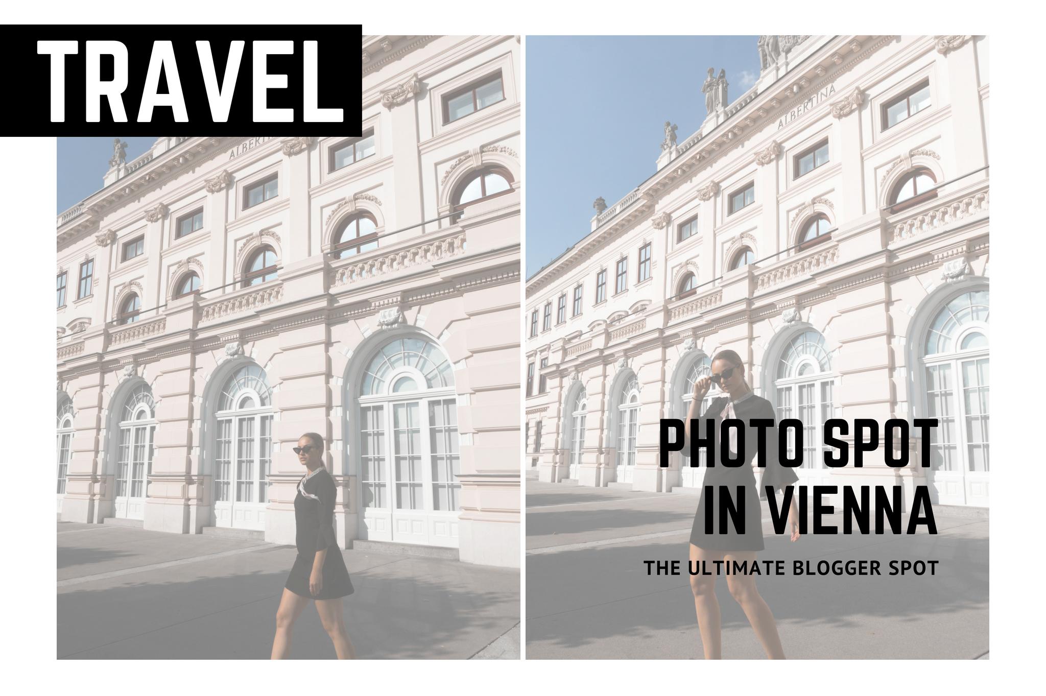 blogger photo spot in vienna albertina fashion blogger instagrammable place in vienna
