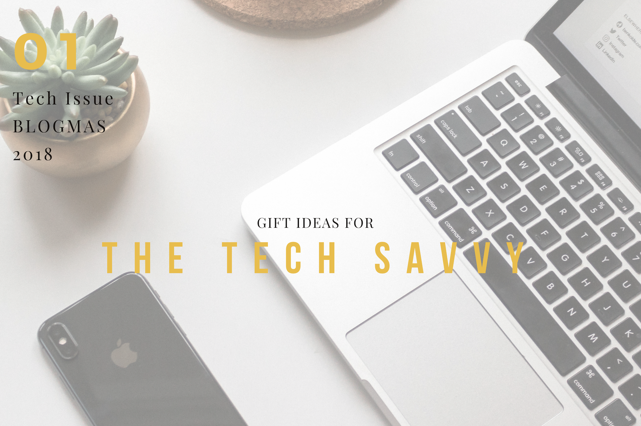 blogmas gift guide for tech savyy what to buy tech lovers for christmas gift ideas tech geeks