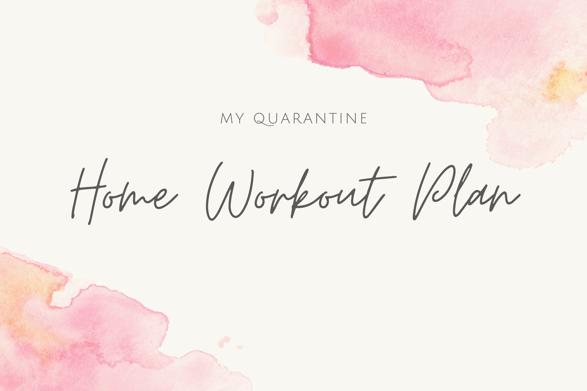 free home workout plan no equipment needed corona quarantine workouts